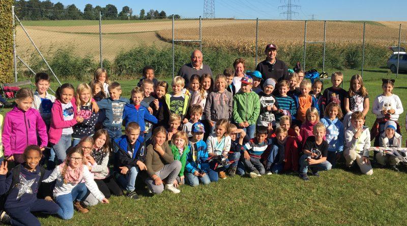 Besuch der Volksschule Harmannsdorf/Rückersdorf